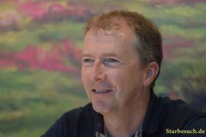 Markus Pfister, swiss childrens author - Der Regenbogenfisch - at Frankfurt Bookfair / Buchmesse Frankfurt 2017