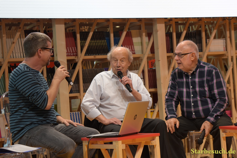 Jean-Claude Mezieres, french comic artist, Valerian & Veronique, Frankfurt Bookfair / Buchmesse Frankfurt 2017
