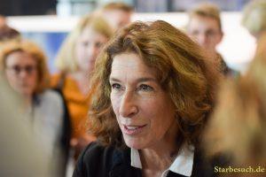 Adele Neuhauser, actress, Frankfurt Bookfair / Buchmesse Frankfurt 2017