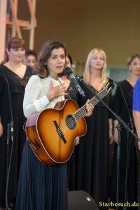 Katie Melua, singer, Handover Ceremony: France 2017 - Georgia 2018 at Frankfurt Bookfair / Buchmesse Frankfurt 2017