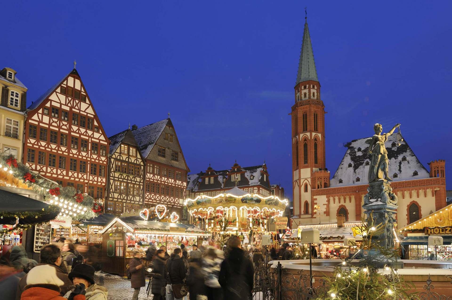 Frankfurt, 27. November: Eröffnung des Weihnachtsmarkts