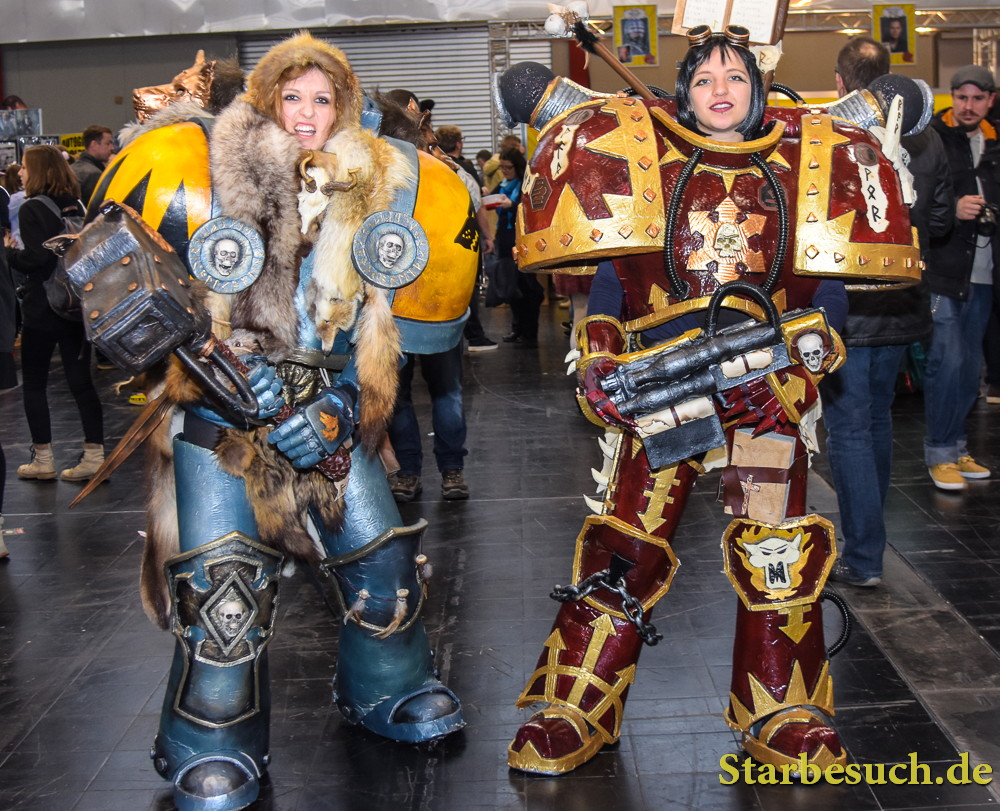 Cosplayers at the German Comic Con in Dortmund, Germany, on December 9th 2017