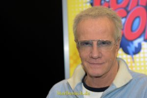 Dortmund, Germany - December 9th 2017: French-American Actor Christopher Lambert (* 1957,  Connor MacLeod in Highlander, Mortal Kombat) at German Comic Con Dortmund.