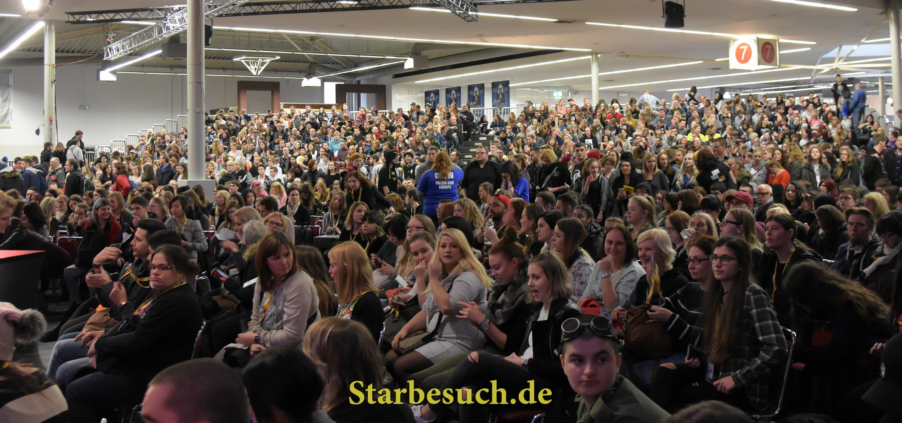 Dortmund, Germany - December 9th 2017: Impression from German Comic Con Dortmund: Photo Selection. More than 30 celebrities attended the event to meet their fans, sign autographs and do photoshoots.