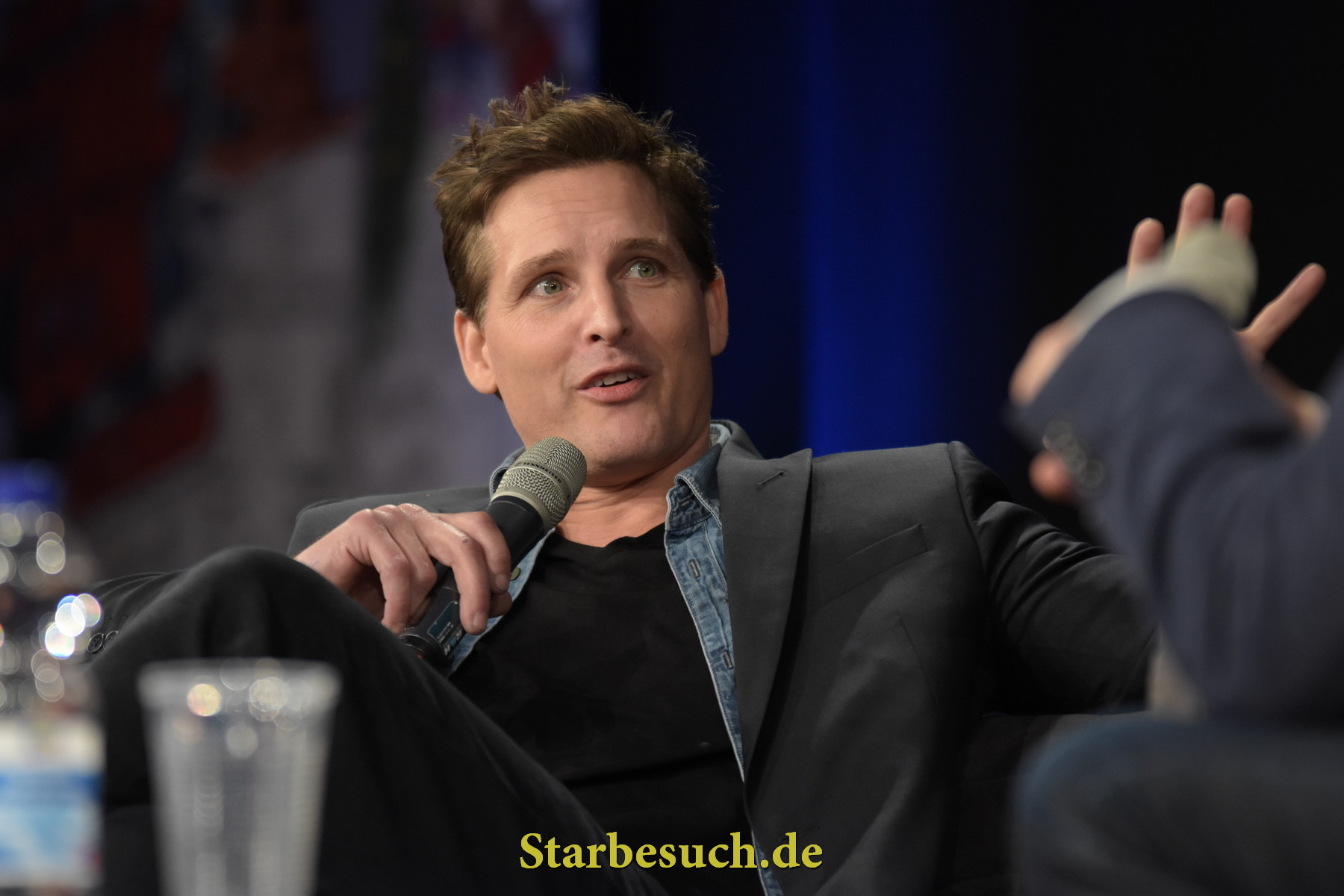 Dortmund, Germany - December 9th 2017: US Actor Peter Facinelli (Twilight Saga, Supergirl, American Odyssey, Glee) at German Comic Con Dortmund. More than 30 celebrities attended the event to meet their fans, sign autographs and do photoshoots