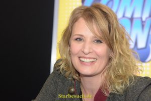 Dortmund, Germany - December 9th 2017: US Actress Samantha Smith (* 1969, Mary Winchester in the CW tv series Supernatural, Transformers) at German Comic Con Dortmund.