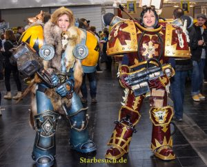 Cosplayers at the German Comic Con in Dortmund, Germany, on December 9th 2017.