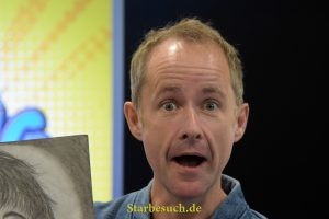 Scottish Actor Billy Boyd (* 1968, Pippin in the Lord Of The Rings film series) at German Comic Con Dortmund. More than 30 celebrities attended the event.