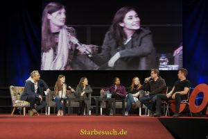 Dortmund, Germany - December 9th 2017: Buffy The Vampire Slayer panel at German Comic Con Dortmund