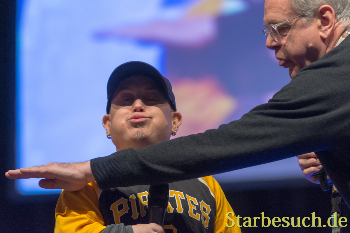 Martin Klebba & Kevin McNally at MagicCon