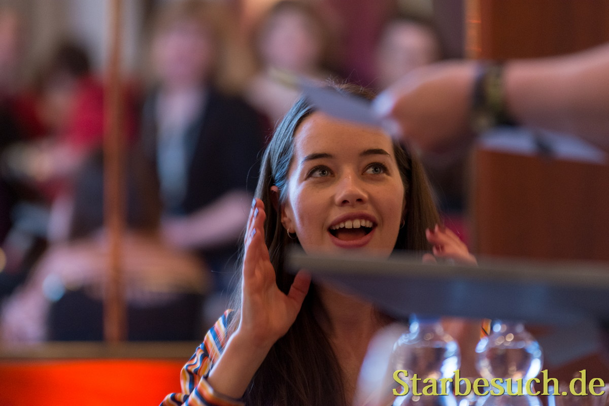 Actress Anna Popplewell at MagicCon 2018