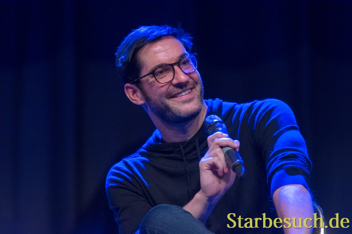 Actor Tom Ellis (Lucifer) at MagicCon 2018.