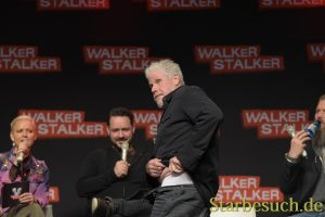 MANNHEIM, GERMANY - MARCH 17: Ron Perlman at the Walker Stalker Germany convention.