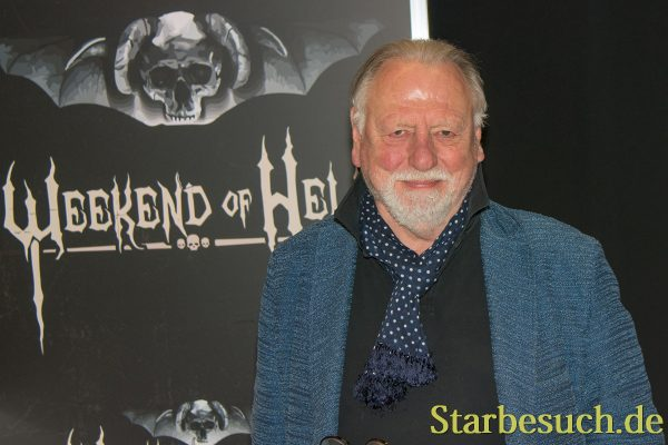 DORTMUND, GERMANY - APRIL 8: Actor Kenneth Cranham (Hellraiser, Layer Cake, Hot Fuzz) at Weekend of Hell, a two day (April 7-8 2018) horror-themed fan convention.
