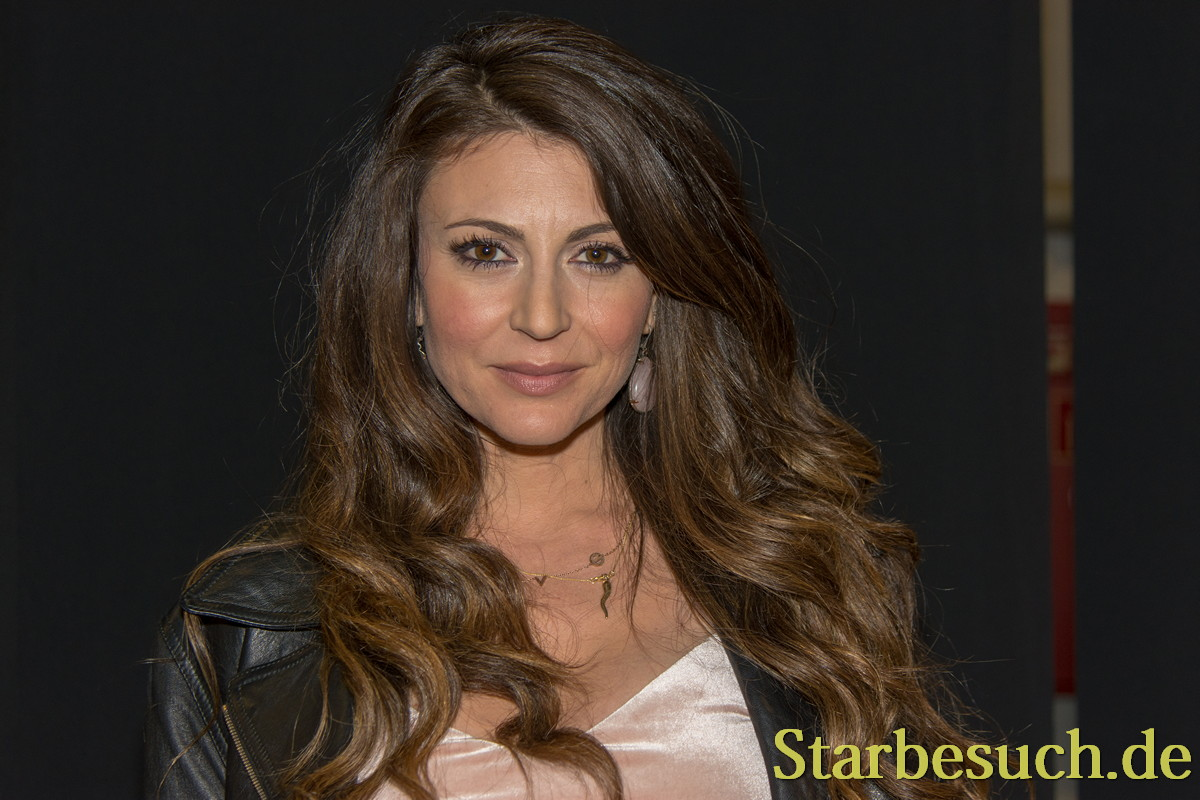 DORTMUND, GERMANY - APRIL 8: Actress Cerina Vincent (Cabin Fever, Power Rangers) at Weekend of Hell, a two day (April 7-8 2018) horror-themed fan convention.