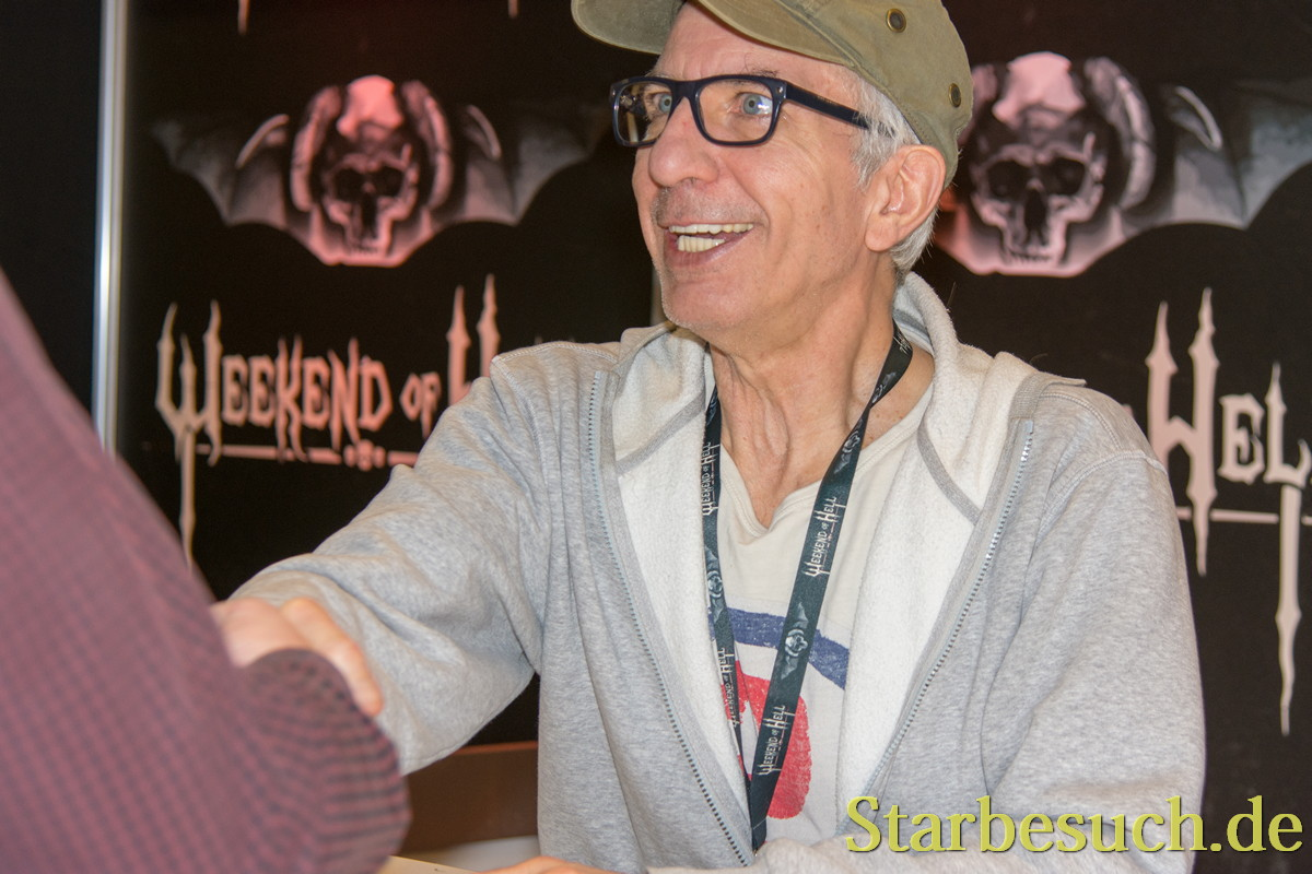DORTMUND, GERMANY - APRIL 8: Actor Ralf Richter (Das Boot, Bang Boom Bang) at Weekend of Hell, a two day (April 7-8 2018) horror-themed fan convention.