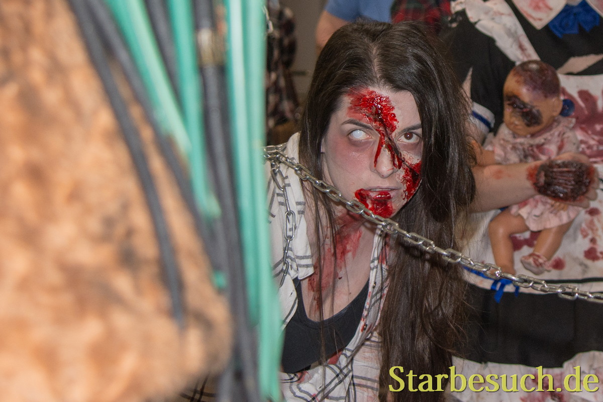DORTMUND, GERMANY - APRIL 8: Impressions from Weekend of Hell, a two day (April 7-8 2018) horror-themed fan convention.