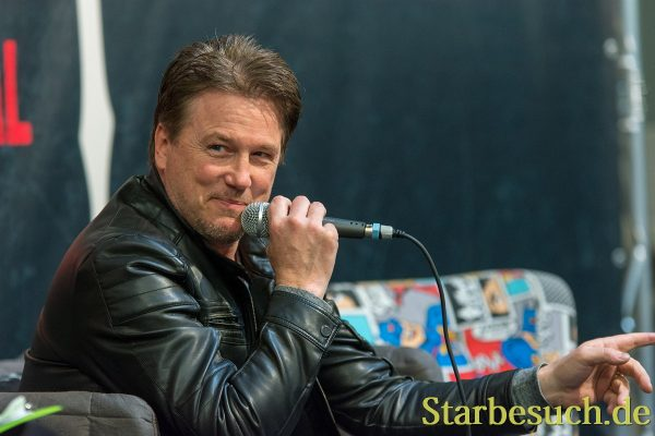 DORTMUND, GERMANY - APRIL 8: Actor Lochlyn Munro (Freddy vs. Jason, Scary Movie, Charmed, Riverdale) at Weekend of Hell, a two day (April 7-8 2018) horror-themed fan convention.