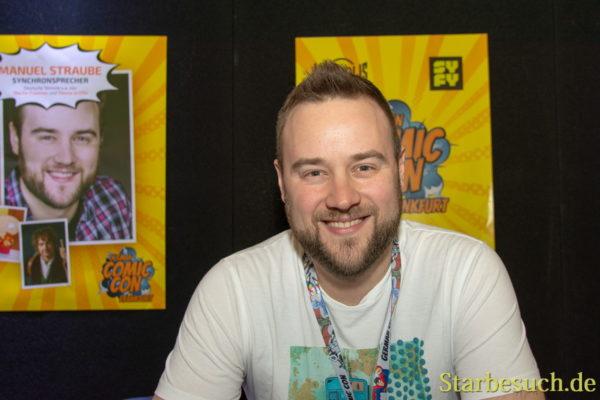 Manuel Straube, Synchronsprecher, Deutsche Stimme u.a. von Martin Freeman, Stewie Griffin (Family Guy)