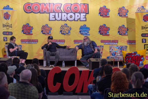Sons of Anarchy Panel mit Theo Rossi & Mark Boone Junior