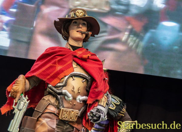 Cosplay - Jesse McCree from Overwatch by Miss Weasleby