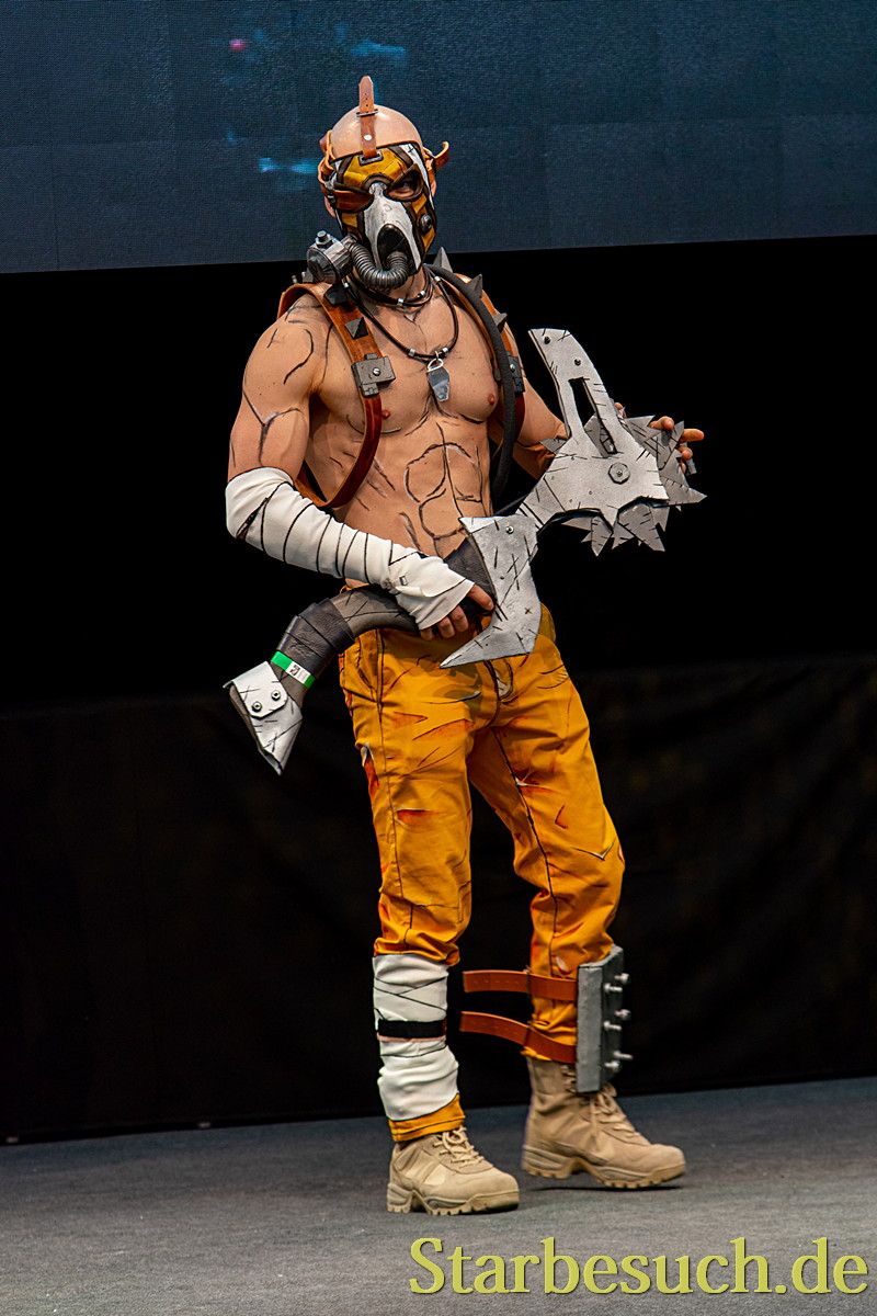 "Cosplay - Krieg from Borderlands 2 by ""Evolve by Nick"""