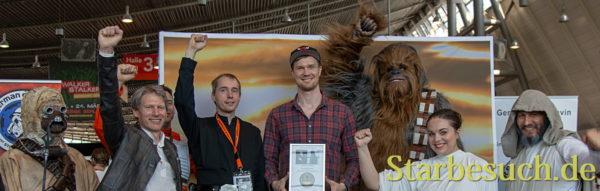 Joonas Suotamo wird Ehrenmitglied der Rebel Legion/German Base Yavin
