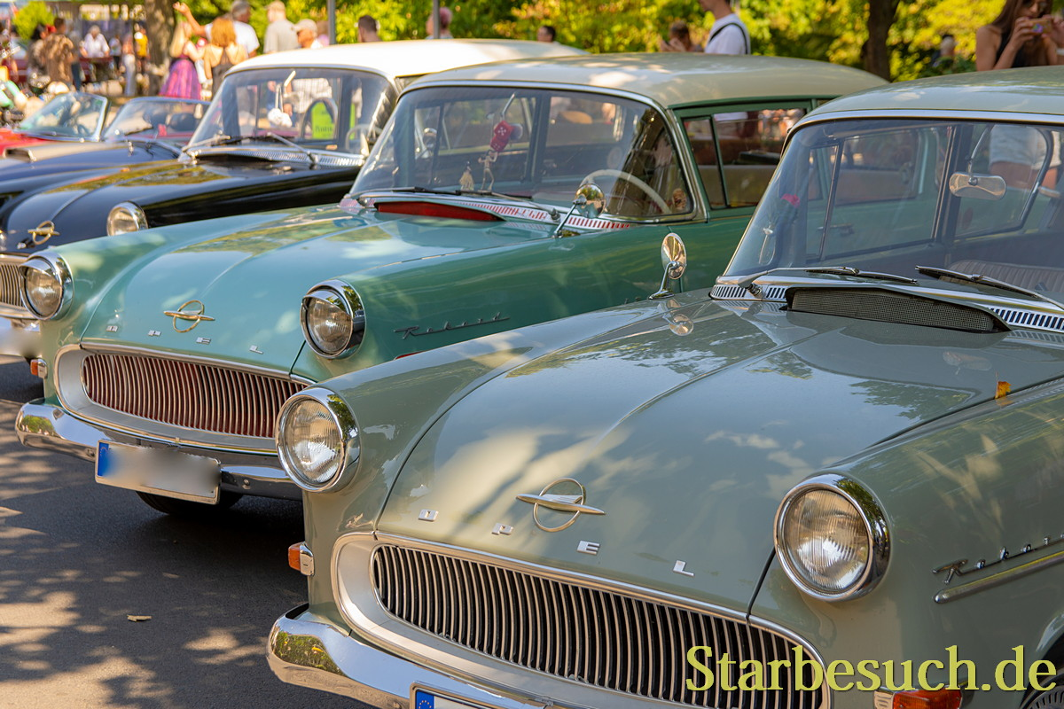 BAD NAUHEIM, GERMANY - August 19th 2018: Classic Car Show at the 17th European Elvis Festival