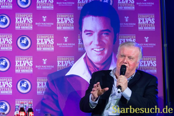 BAD NAUHEIM, GERMANY - August 19th 2018: Ed Enoch at the 17th European Elvis Festival