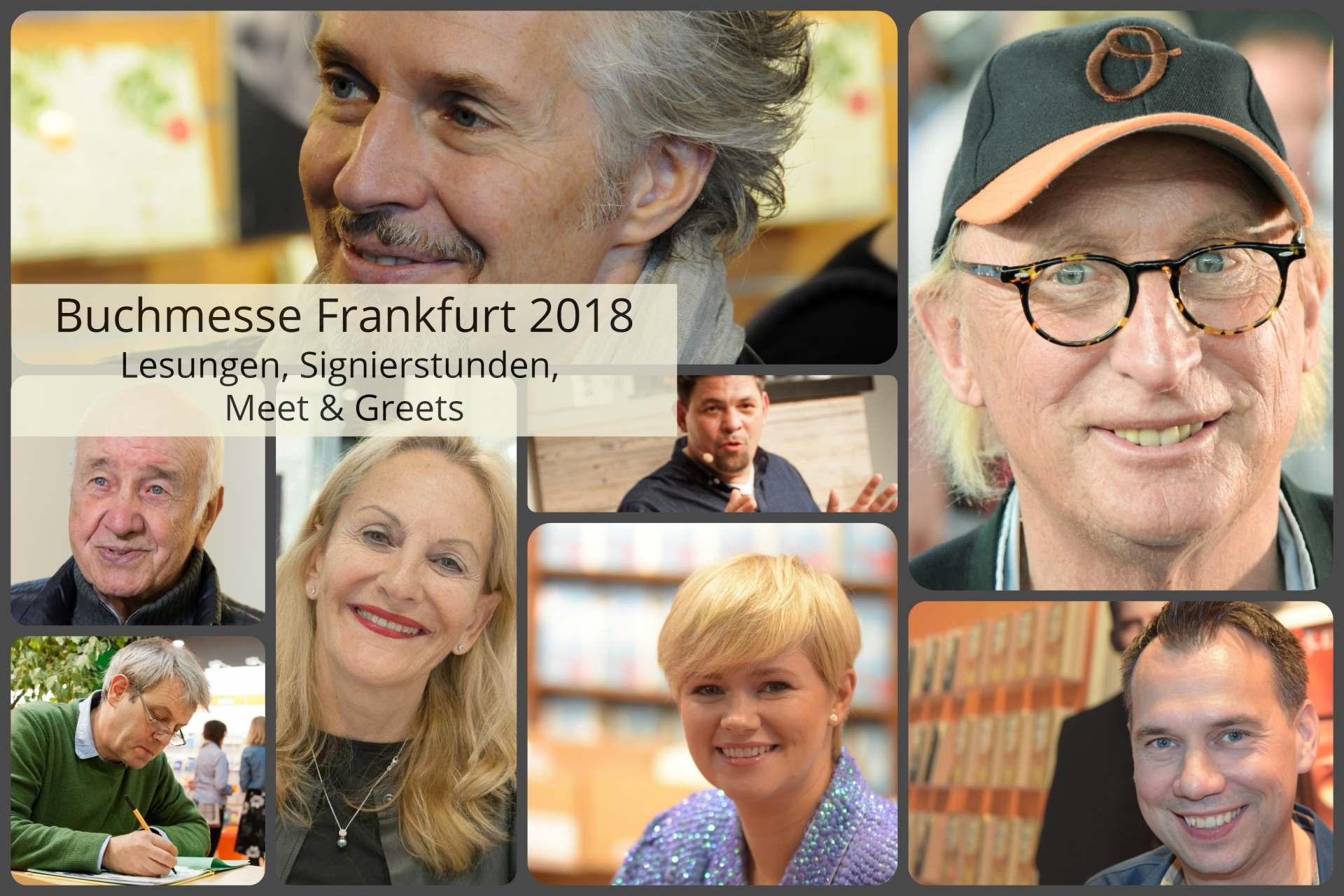 Buchmesse Frankfurt 2018 Spezial: Lesungen, Signierstunden und Meet ...