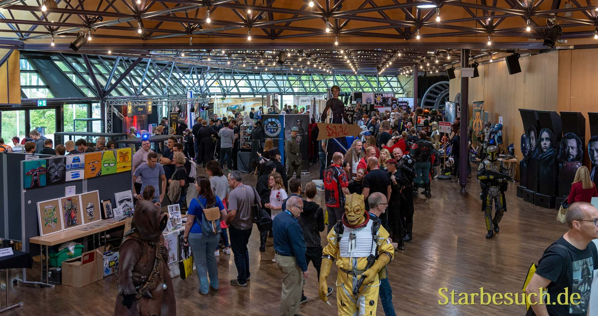 FUERTH, Germany - September 22nd 2018: Visitors at Noris Force Con 5