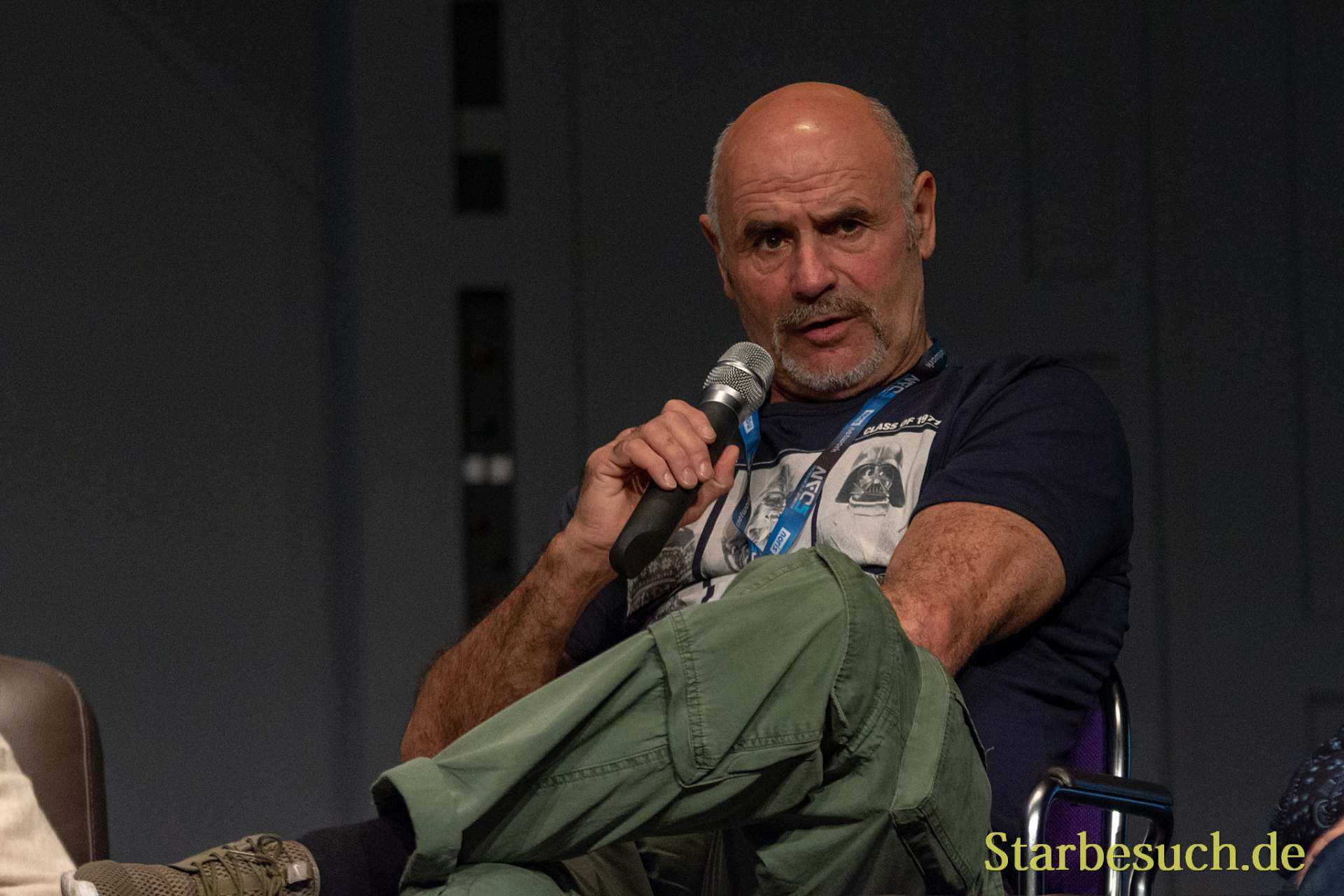 FUERTH, Germany - September 22nd 2018: Peter Ross at Noris Force Con 5