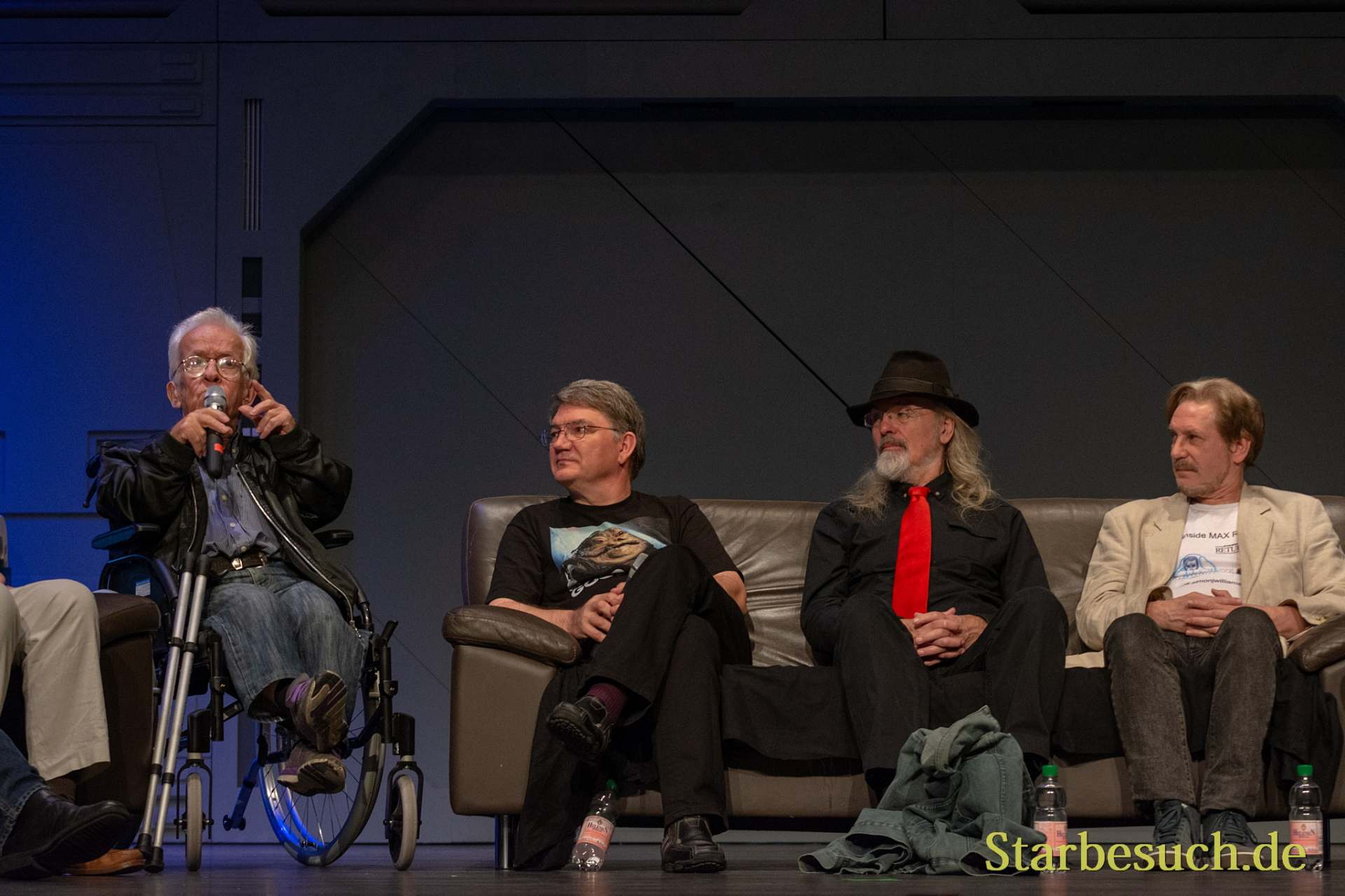 FUERTH, Germany - September 22nd 2018: Mike Edmonds, Dave Barclay, Toby Philpott and Simon Williamson at Noris Force Con 5