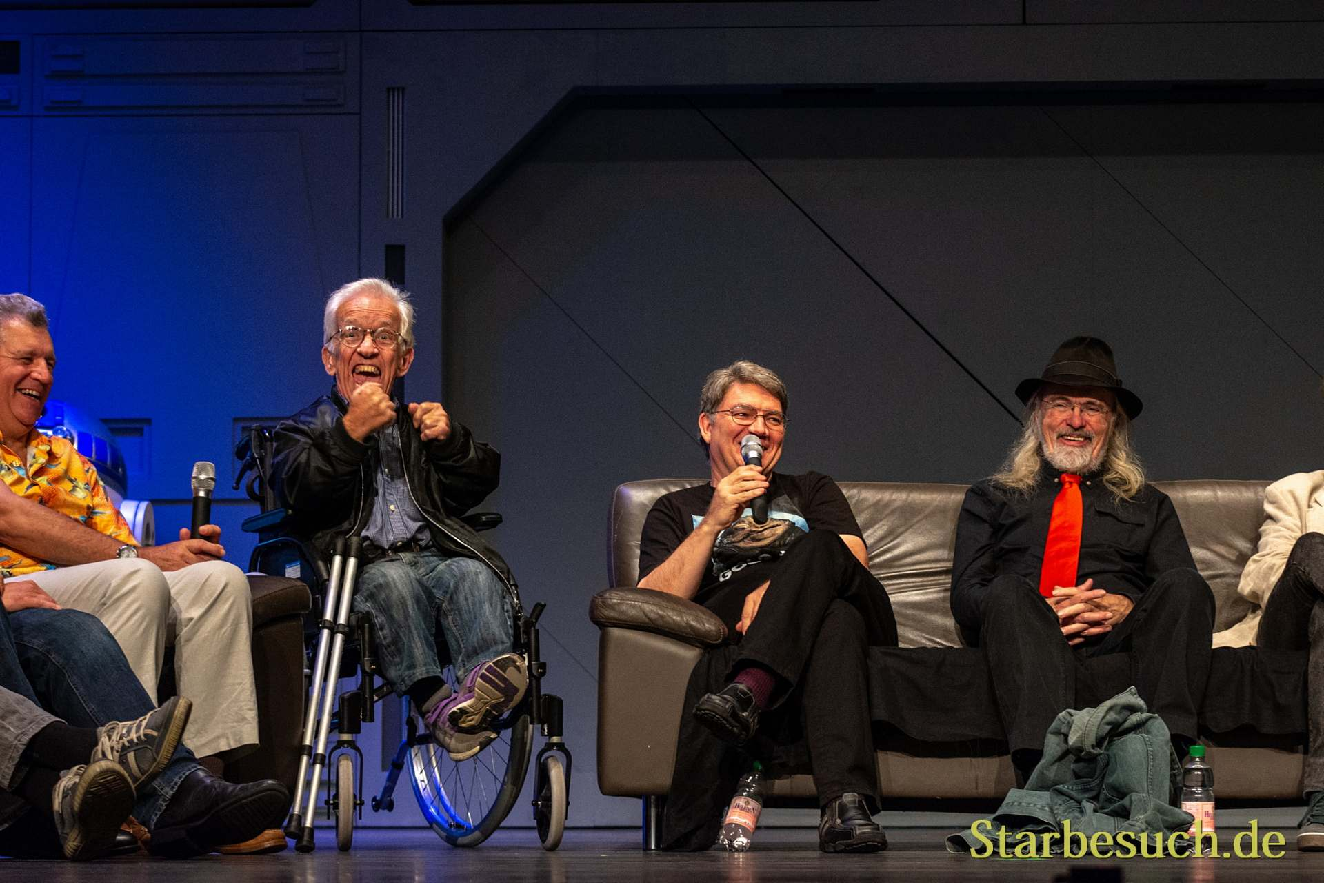 FUERTH, Germany - September 22nd 2018: Tim Rose, Mike Edmonds, Dave Barclay and Toby Philpott at Noris Force Con 5