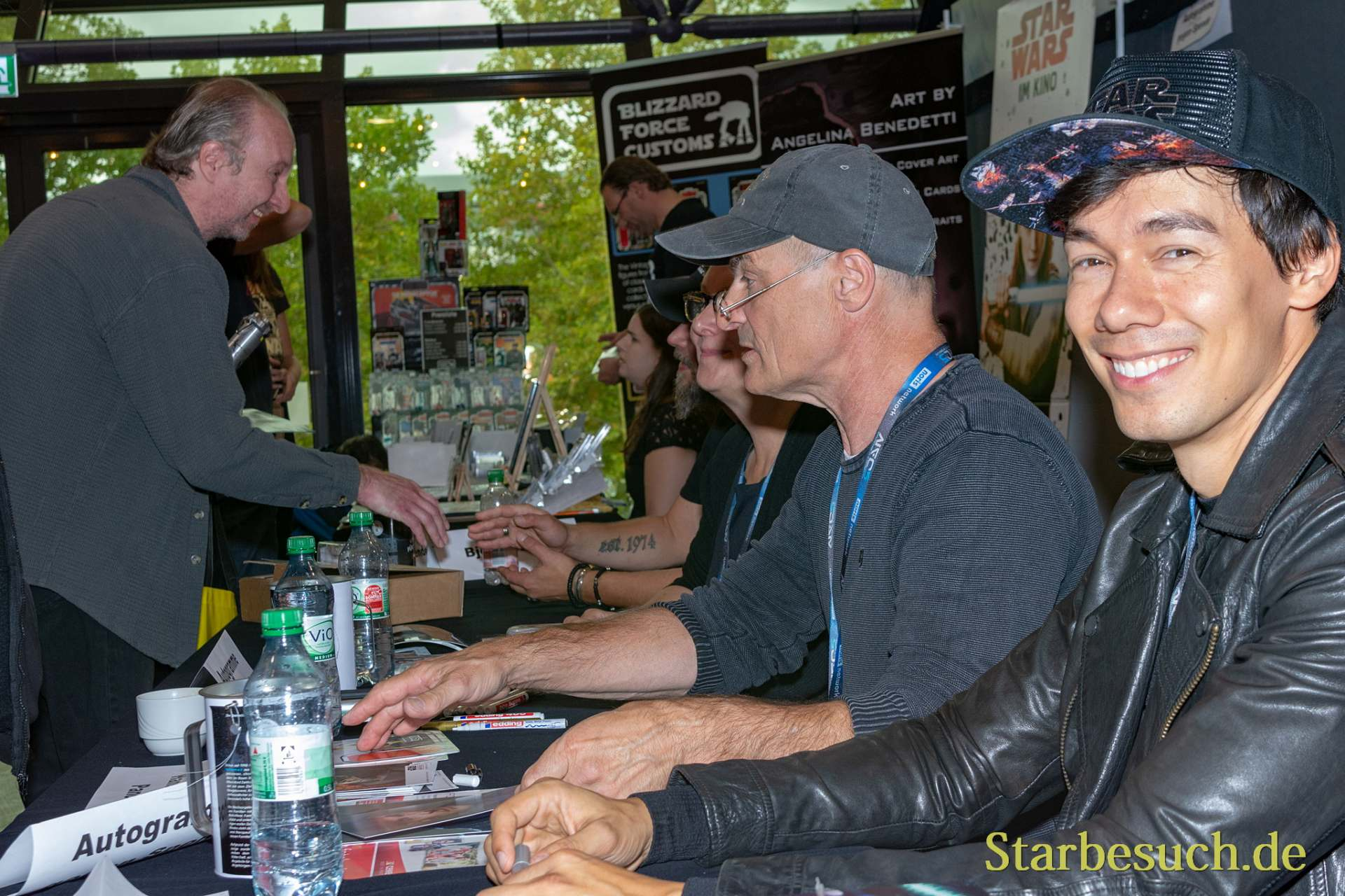 FUERTH, Germany - September 22nd 2018: Florian Clyde and Hans-Georg Panczak at Noris Force Con 5