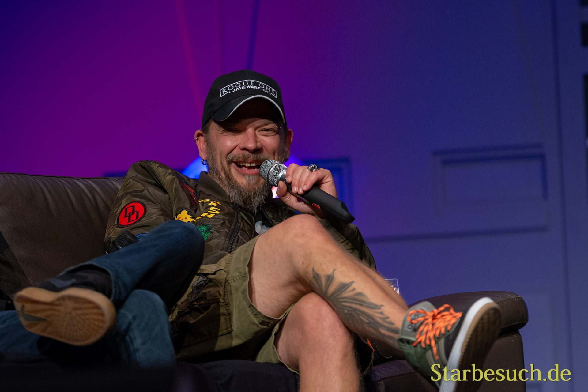 FUERTH, Germany - September 22nd 2018: Björn Schalla at Noris Force Con 5