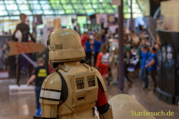 FUERTH, Germany - September 22nd 2018: Stormtrooper at Noris Force Con 5