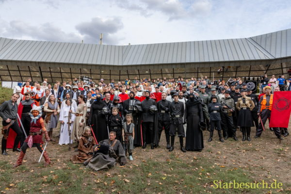 FUERTH, Germany - September 22nd 2018: Group photos at Noris Force Con 5