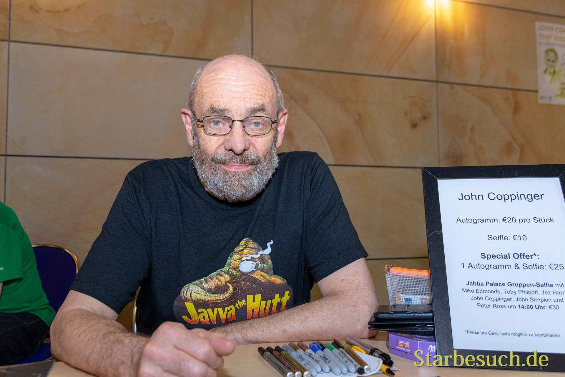 FUERTH, Germany - September 22nd 2018: John Coppinger at Noris Force Con 5