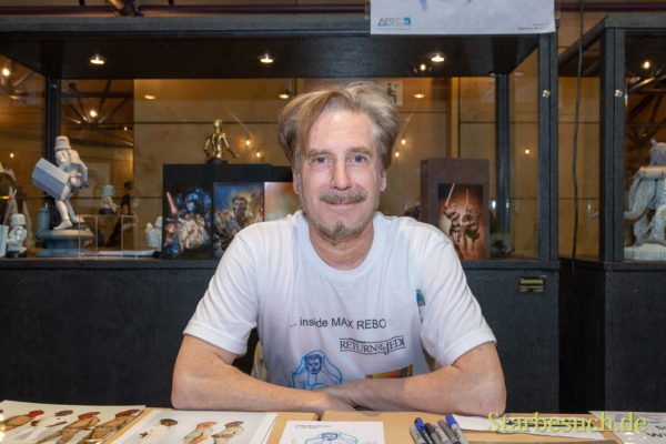 FUERTH, Germany - September 22nd 2018: Simon Williamson at Noris Force Con 5
