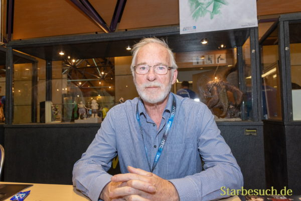 FUERTH, Germany - September 22nd 2018: Ian McElhinney at Noris Force Con 5
