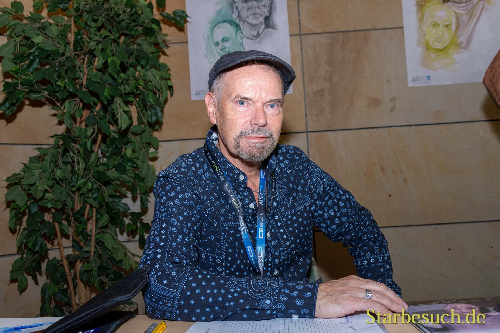 FUERTH, Germany - September 22nd 2018: John Simpkin at Noris Force Con 5