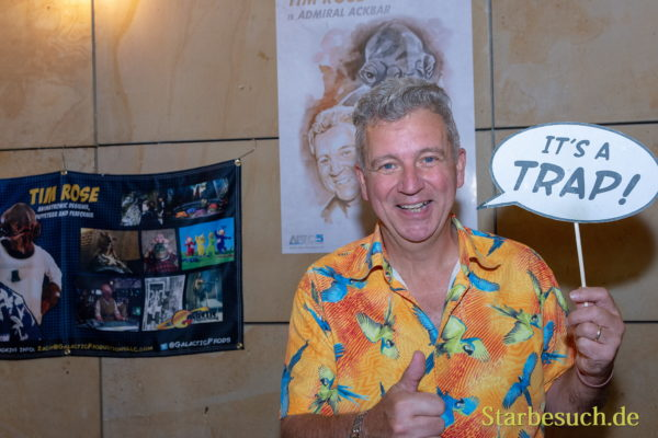 FUERTH, Germany - September 22nd 2018: Tim Rose at Noris Force Con 5