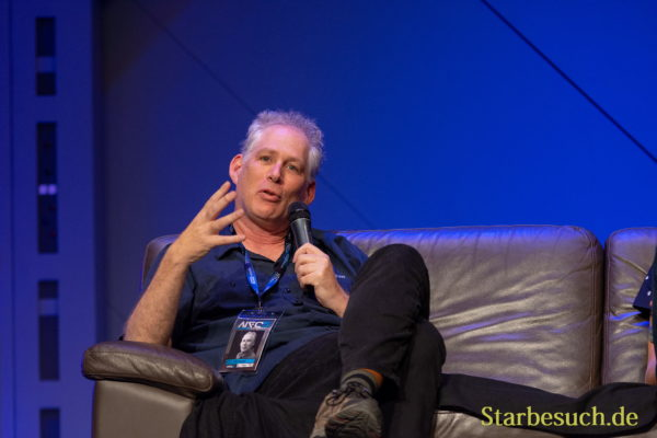 FUERTH, Germany - September 22nd 2018: J. W. Rinzler at Noris Force Con 5