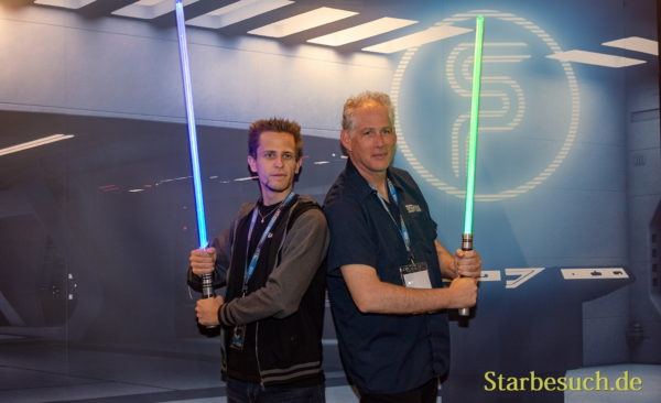 FUERTH, Germany - September 22nd 2018: Tim Dagott and JW Rinzler at Noris Force Con 5