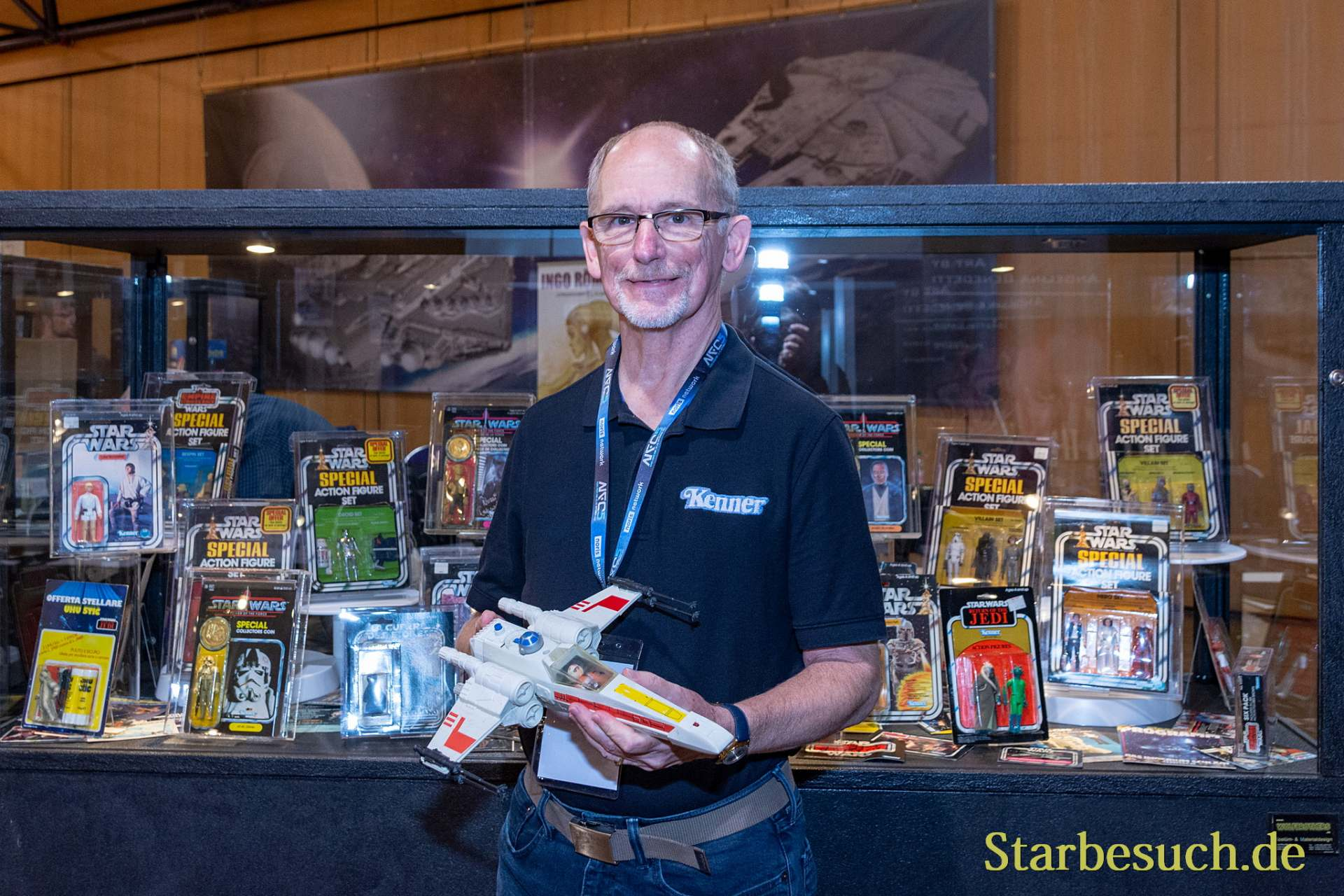 FUERTH, Germany - September 22nd 2018: Jim Swearingen at Noris Force Con 5