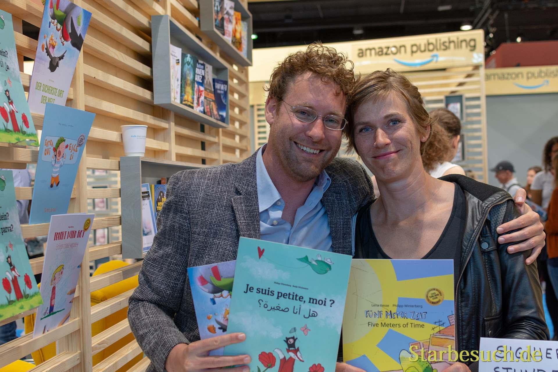 Autor Philipp Winterberg und Illustratorin Lena Hesse