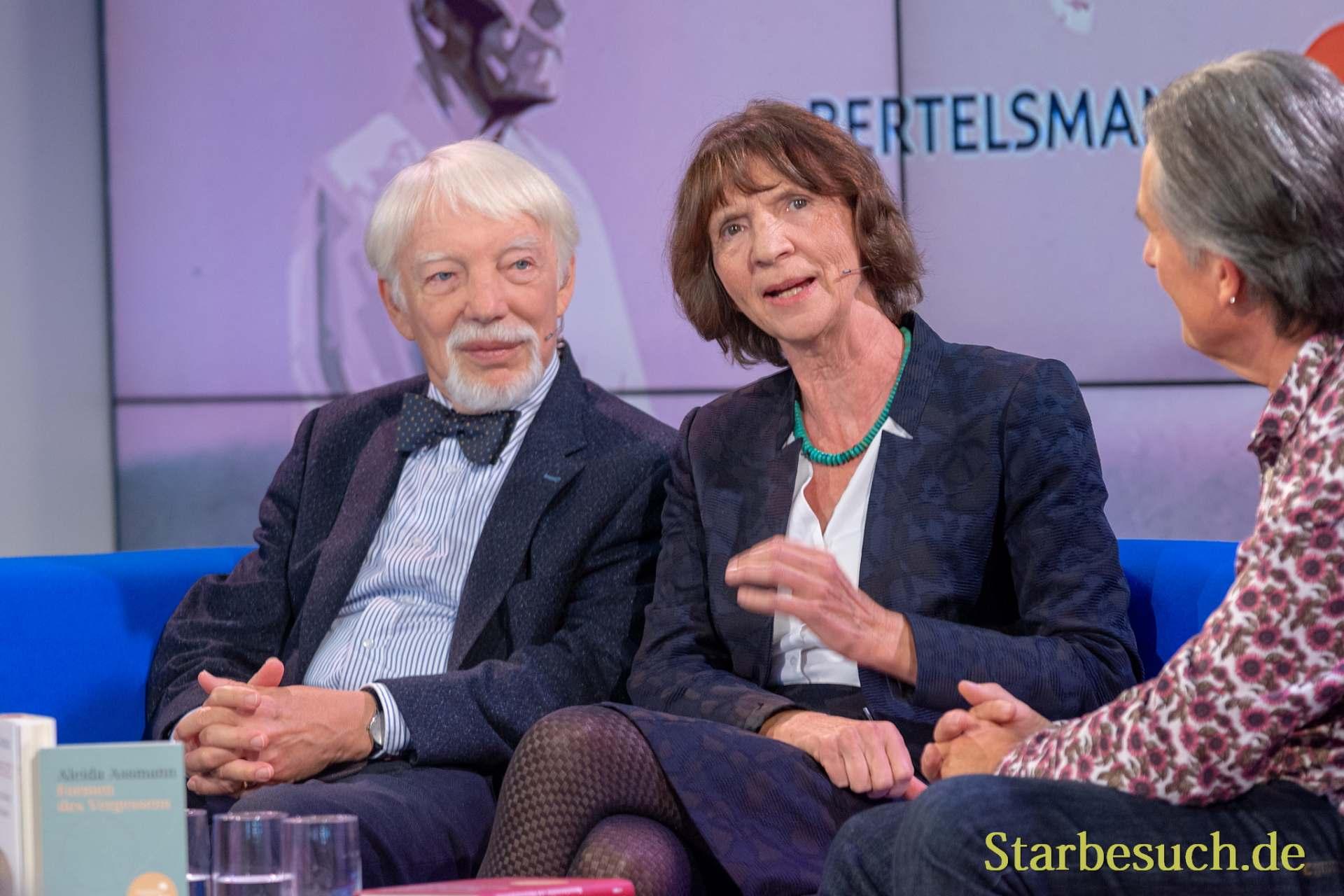 Jan und Aleida Assmann, Friedenspreisträger des deutschen Buchhandels 2018