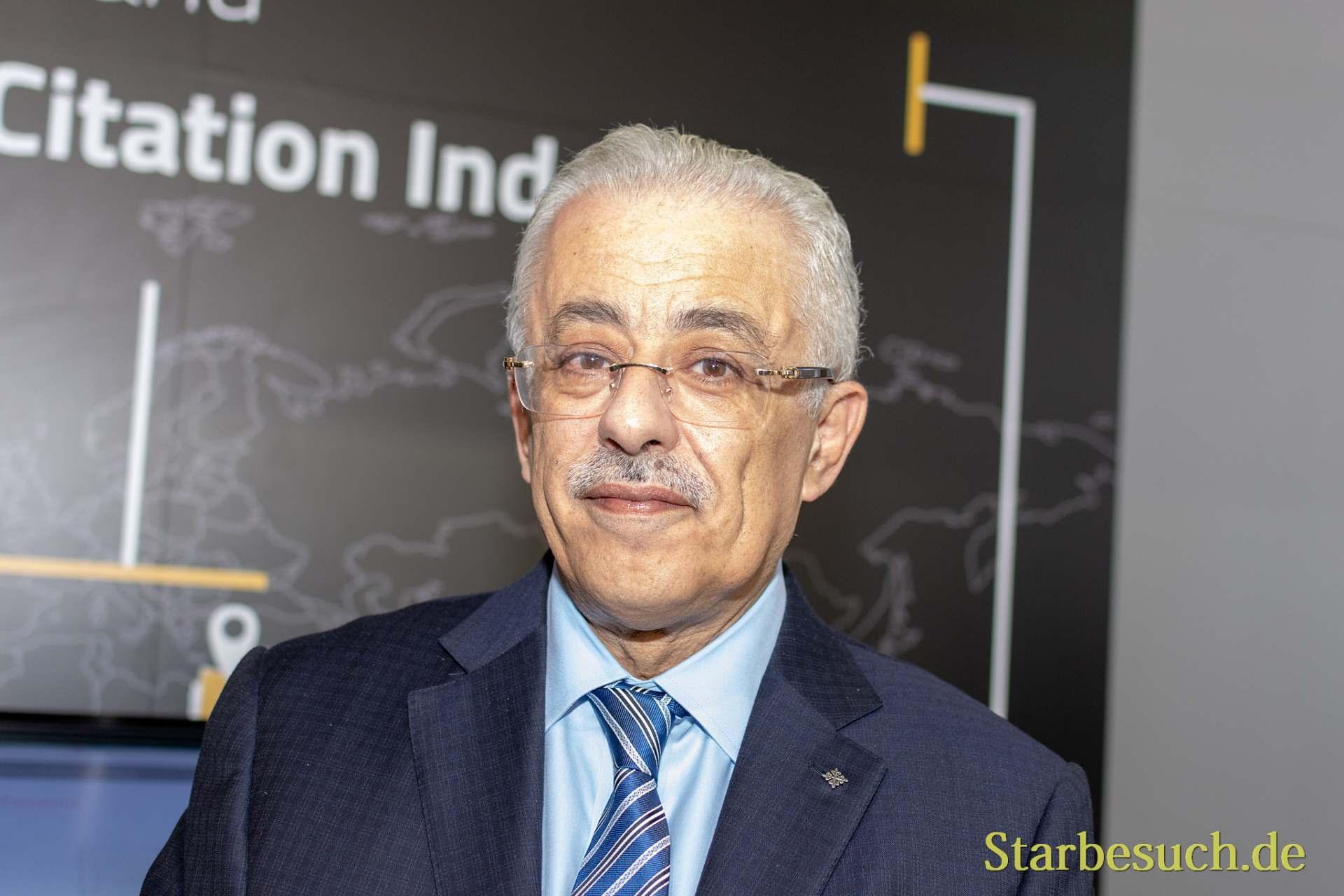 Tarek Shawki, egyptischer Bildungsminister