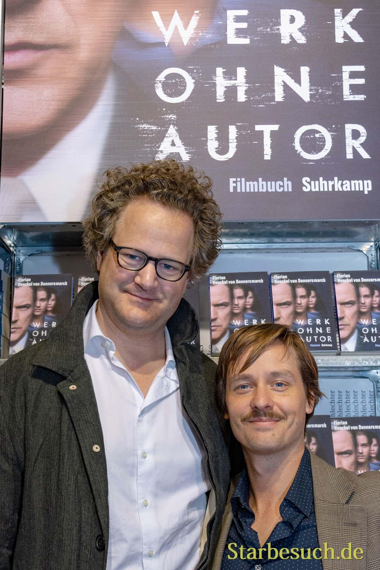 Regisseur Florian Henckel von Donnersmarck und Schauspieler Tom Schilling